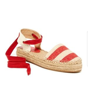 Splendid Eveleigh Ankle Strap Stripe Espadrille